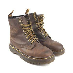 Dr Martens Brown 8 Eye Boots  England US 5 UK 3
